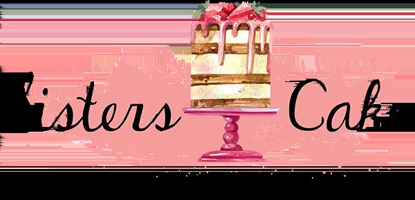 Logo Sister Cake - Pečenie svadobných koláčov a svadobnej torty - 600px