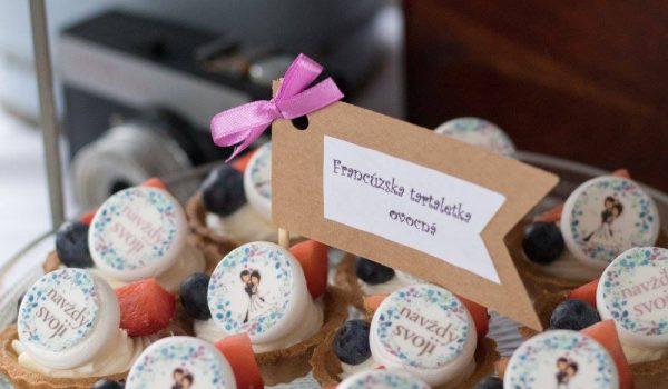 Sisters Cake - Svadobné koláče - Francúzska tartaletka