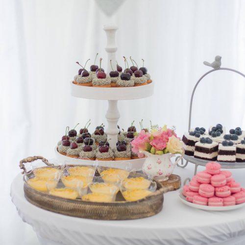 Sisters Cake - Svadobné koláče - makrónky